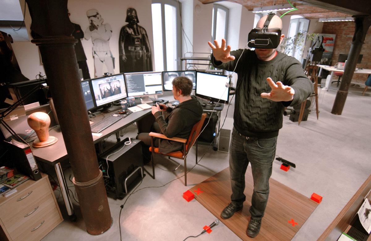 © filmaton - Industrie 4.0 mit der Oculus Rift