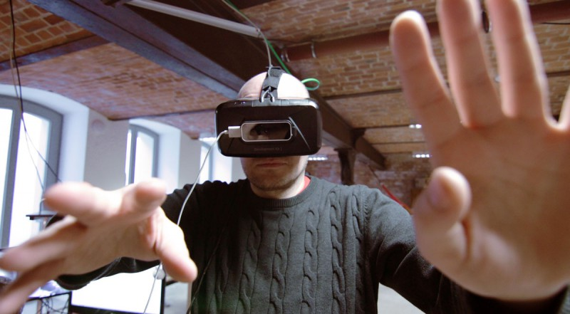 Industrie 4.0 Smart Factory Oculus Rift VR